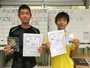 福岡県ジュニアダブルス選手権